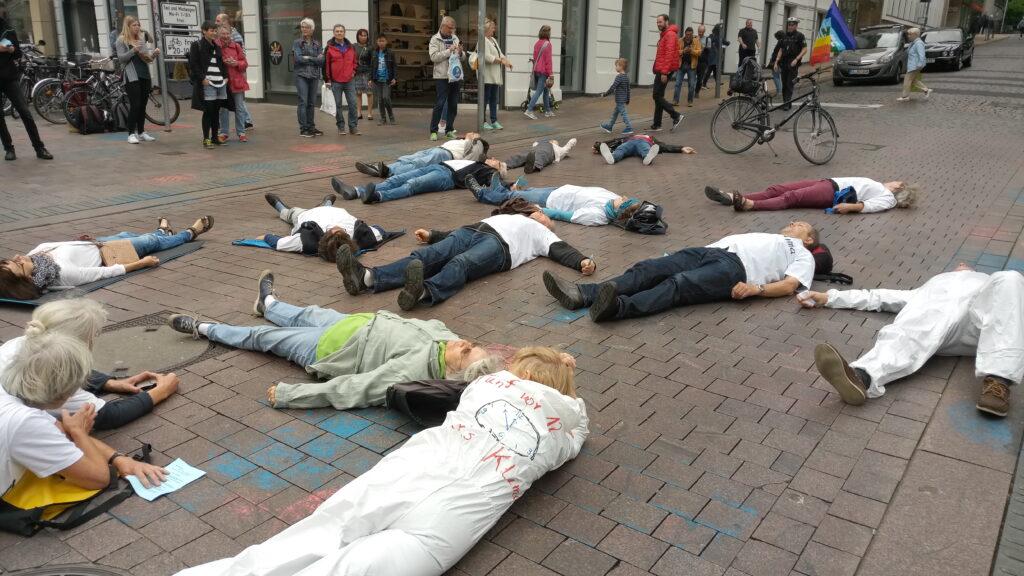 AKF Aktion in der Stadt